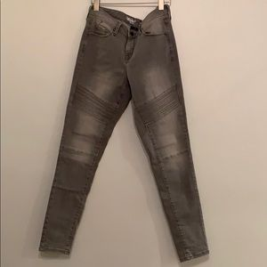 Grey Jeans with Detail